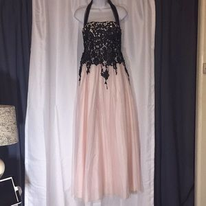 B. SMART Black & Pink Ball Gown/ Prom Dress